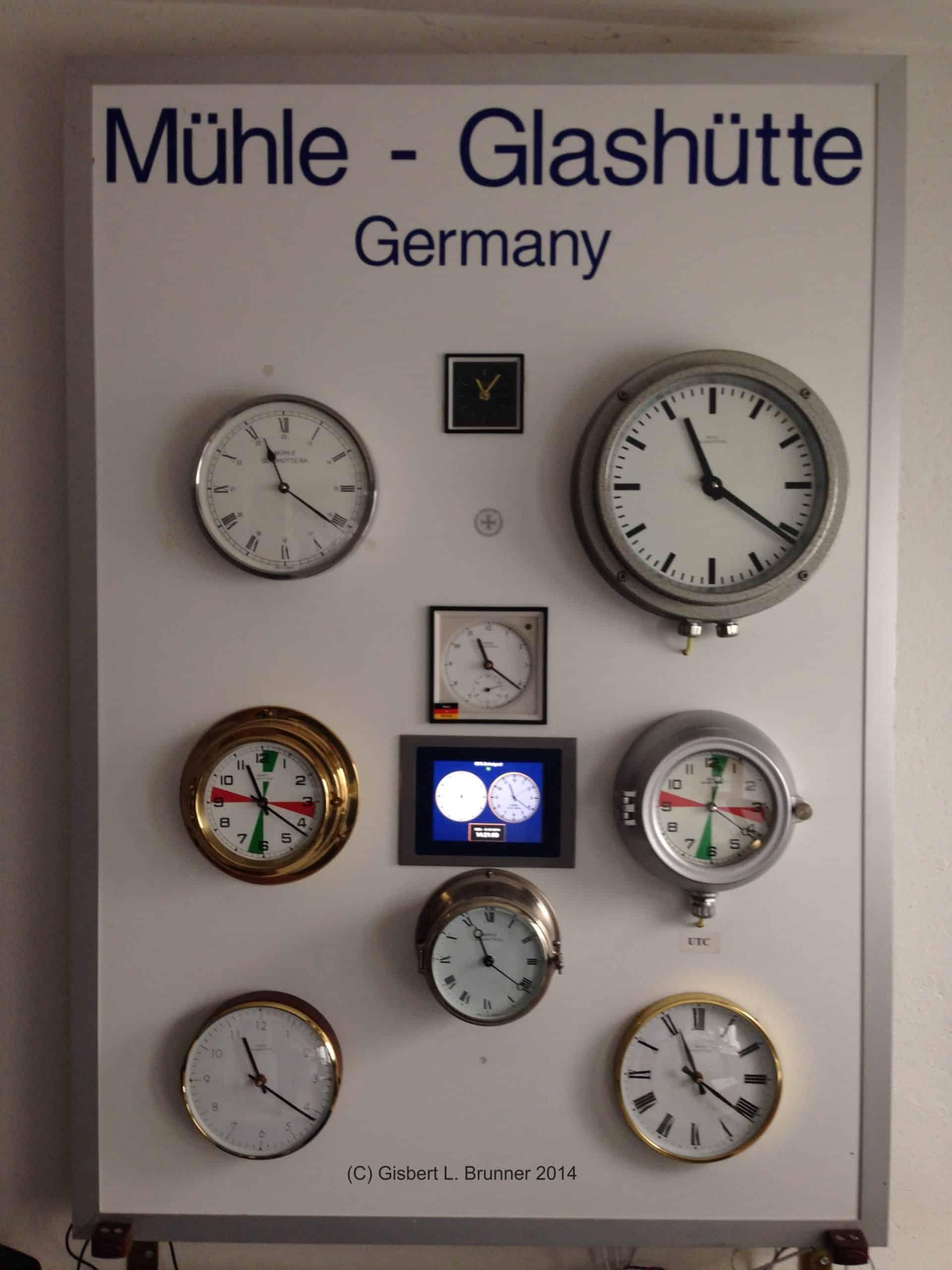 Mühle Schiffs-Uhrenanlage