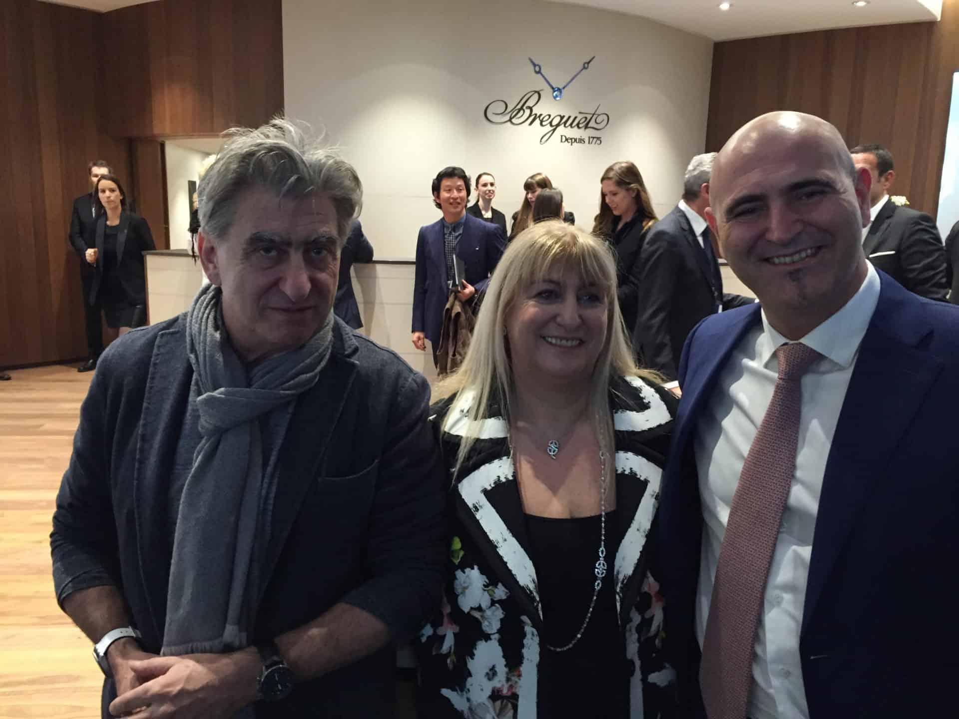 Nick, Nayla und Marc Hayek haben entschieden: Die Swatch Group verlässt die Baselworld - Foto (C) Gisbert Brunner