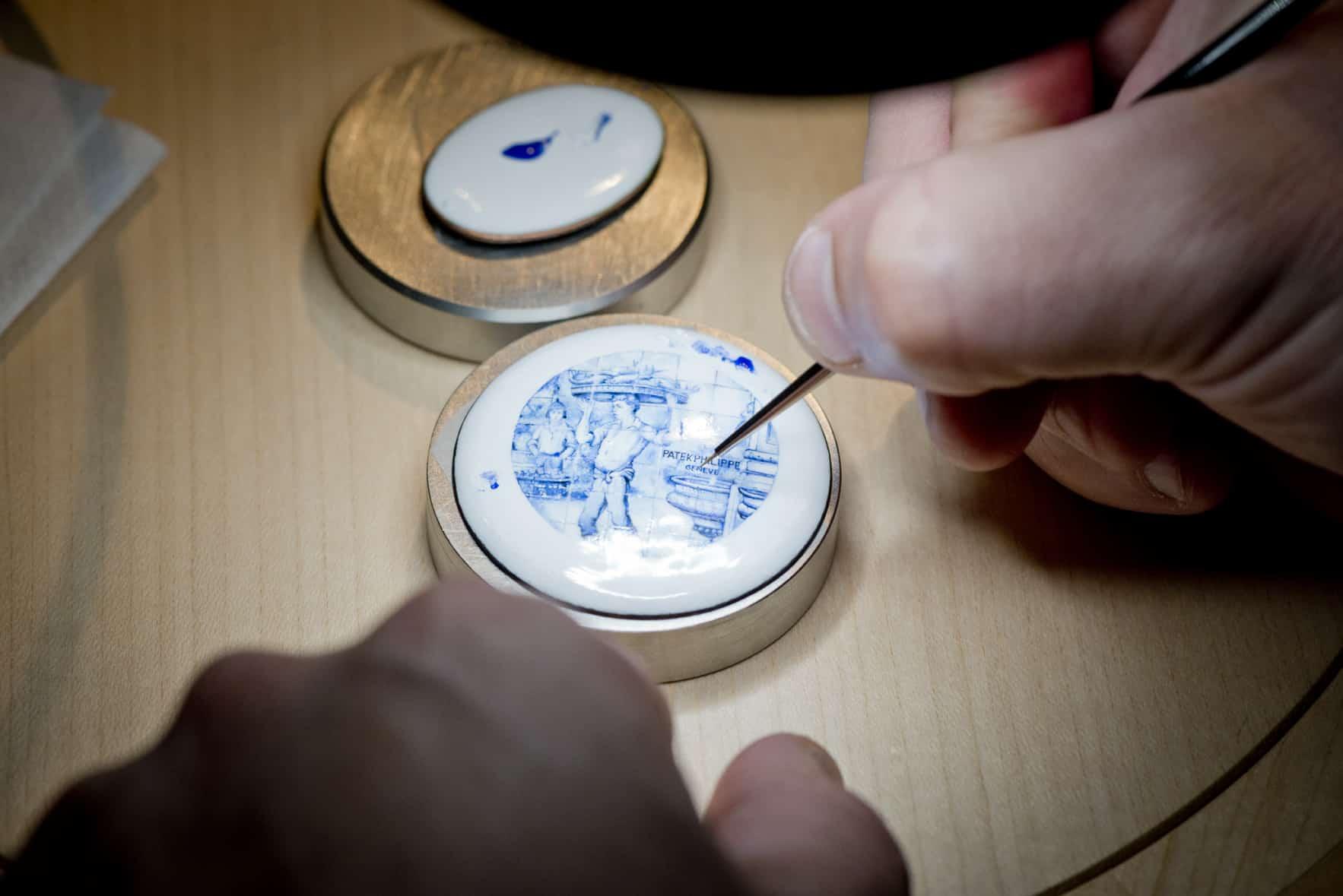 Patek Philippe Rare Handcrafts 2018 Zifferblatt Email Miniatur 01