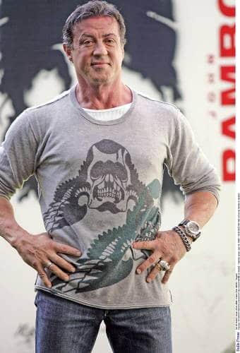 Sylster Stallone Rambo Film Panerai Slytech