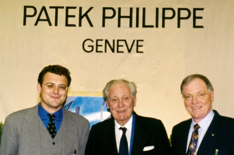 Patek Philippe Family Affairs im besten Sinne: Thierry, Henri und Philippe Stern (v.l.n.r.)