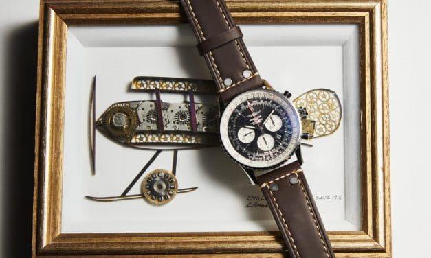 Der Breitling Navitimer Rattrapante ist ein Chronograph für Anspruchsvolle