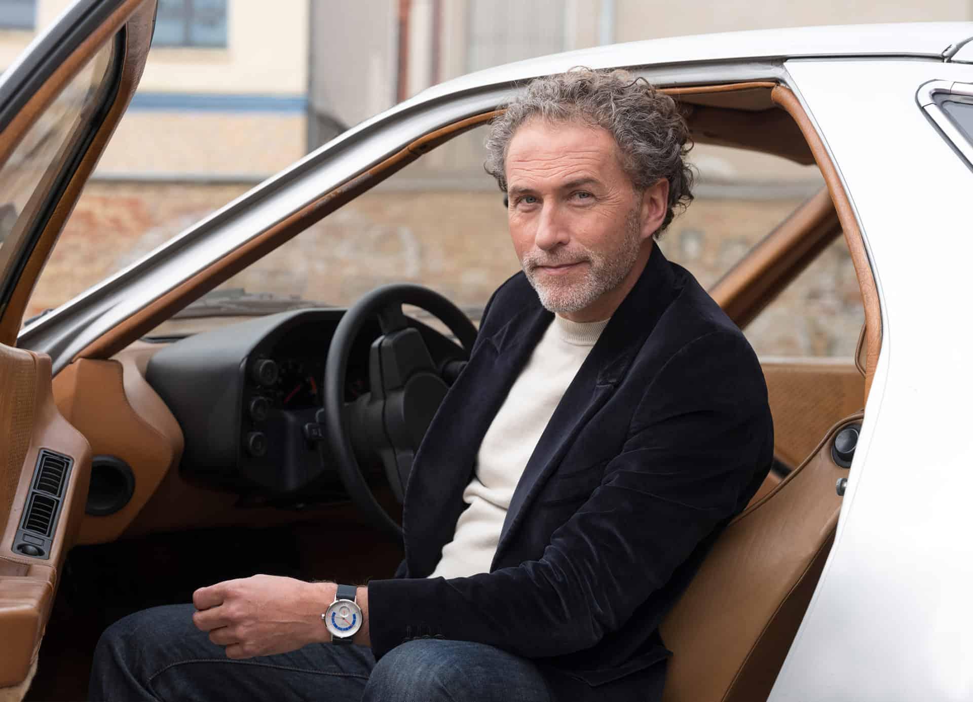 Designer Werner Aisslinger hat die Nomos Autobahn gestaltet
