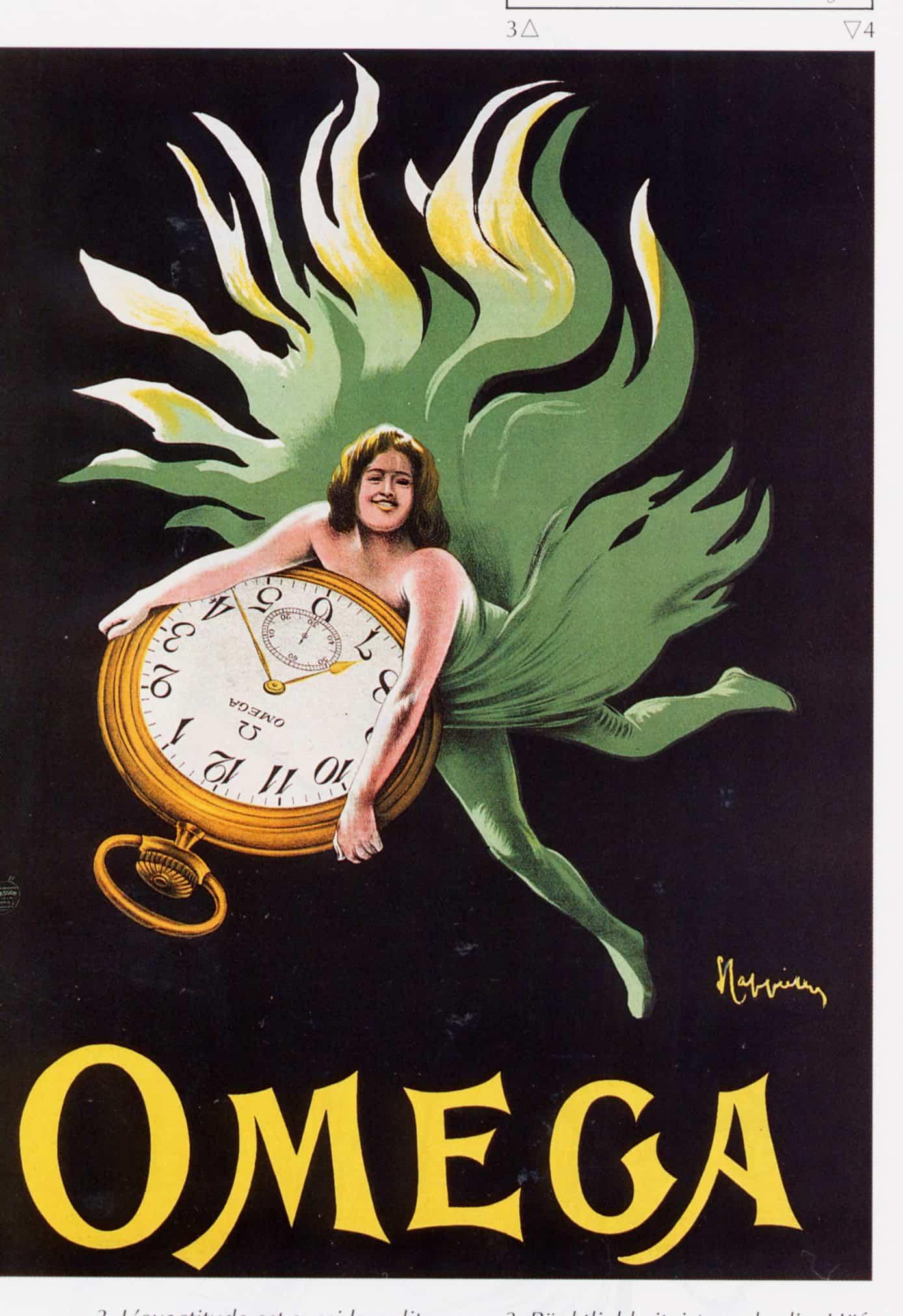 Vintage UhrenwerbungOmega Uhrenwerbung – im Dienste der präzisen Zeitmessung