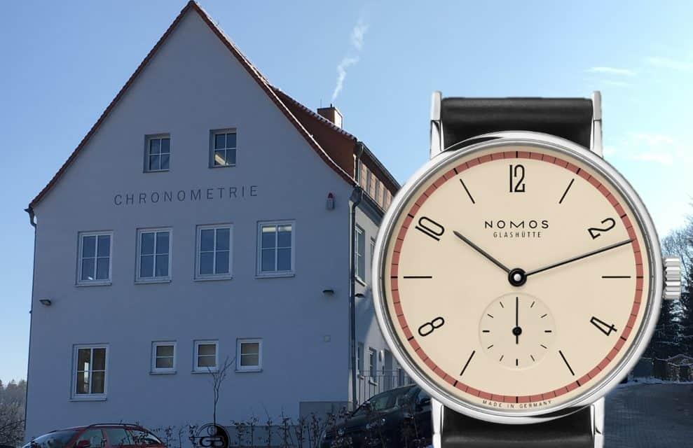 Die Nomos Tangente ist ein Stück Bauhaus am Handgelenk
