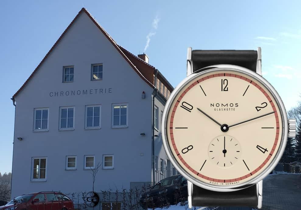 Nomos Tangente Bauhaus EditionDie Nomos Tangente ist ein Stück Bauhaus am Handgelenk