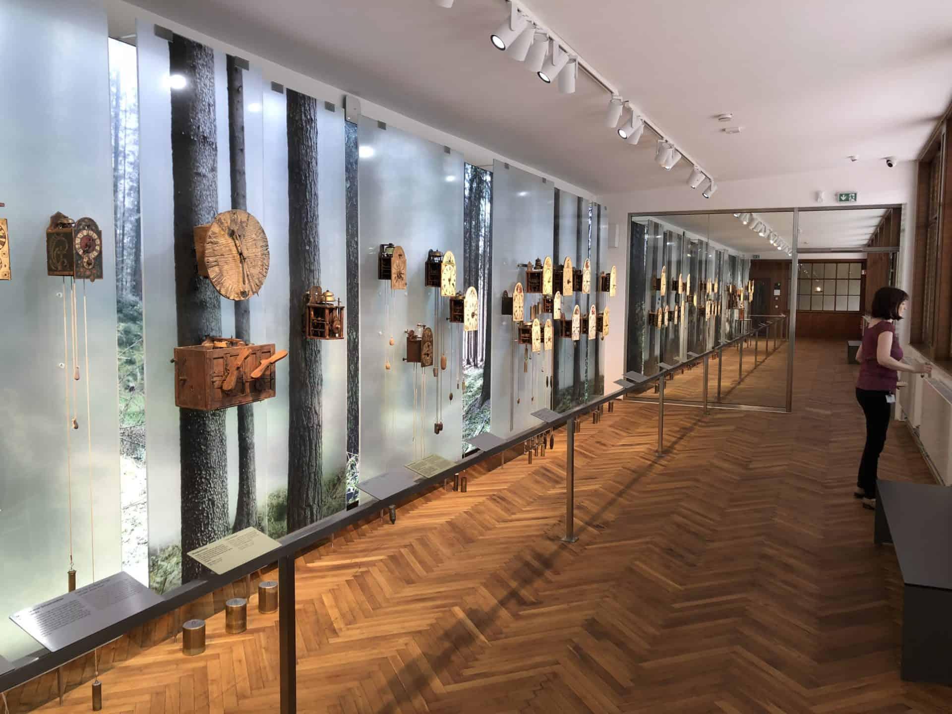 Junghans Terrassenbau Museum 2018 Schwarzwalduhren 01 Foto GLB.