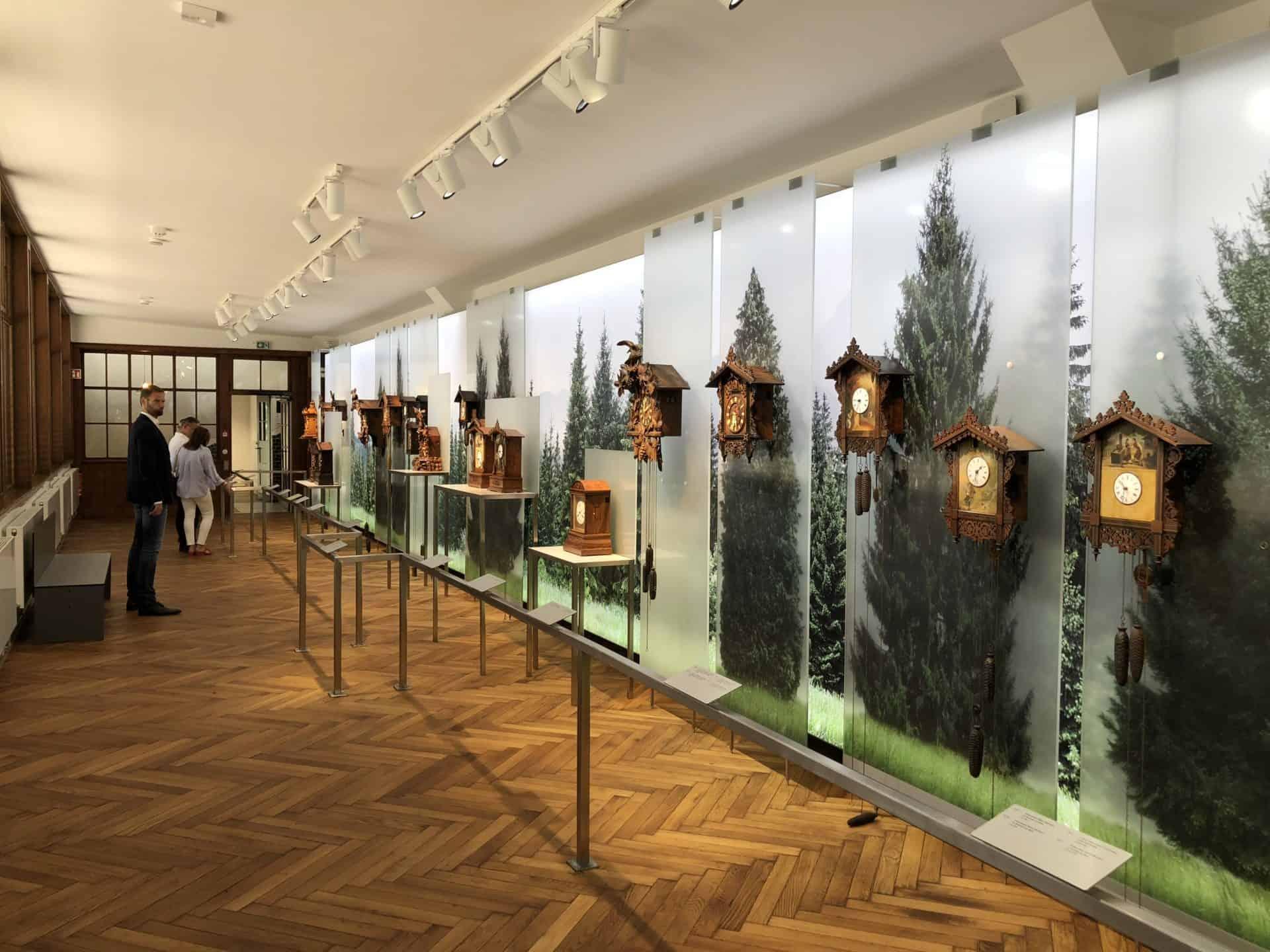 Junghans Terrassenbau Museum 2018 Schwarzwalduhren 02 Foto GLB