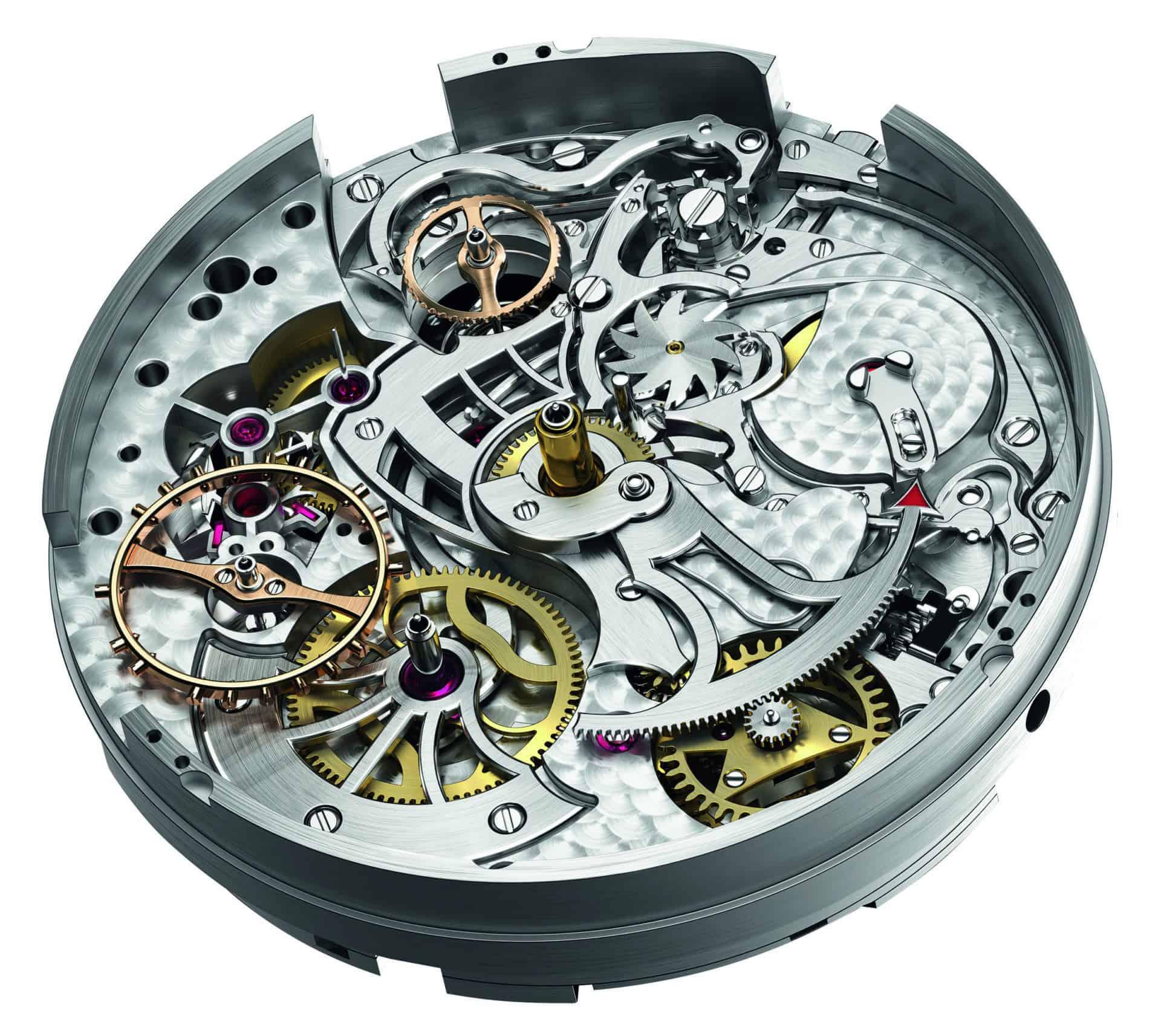 Montblanc TimeWalker 1000 116828 Movement Dial