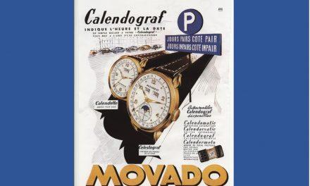 Der Movado Calendograf im Zug der Zeit
