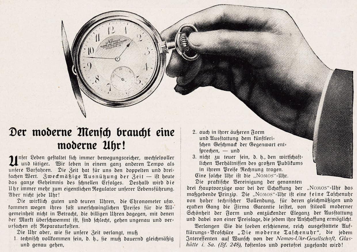 Nomos Guido Müller 1908
