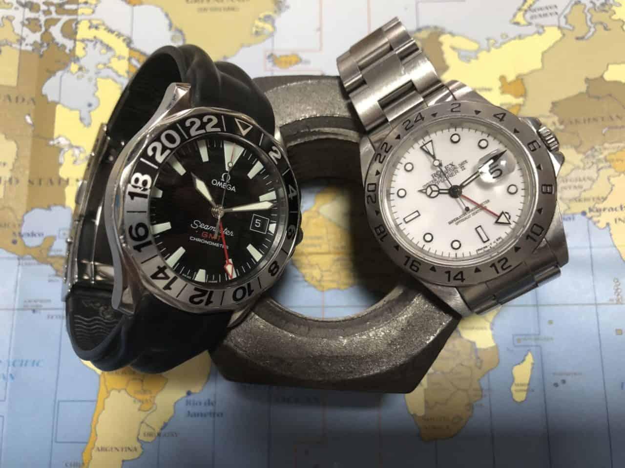Omega oder Rolex, das ist hier die Frage