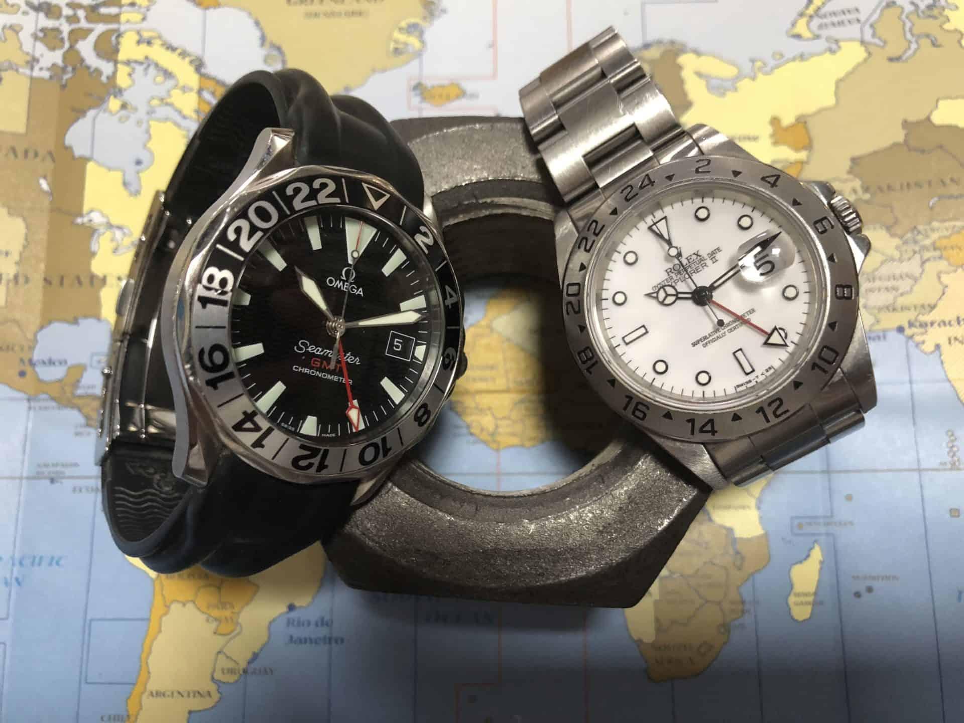 GMT Uhren von Rolex und OmegaRolex Explorer II versus Omega Seamaster GMT: Der Klassiker-Vergleich