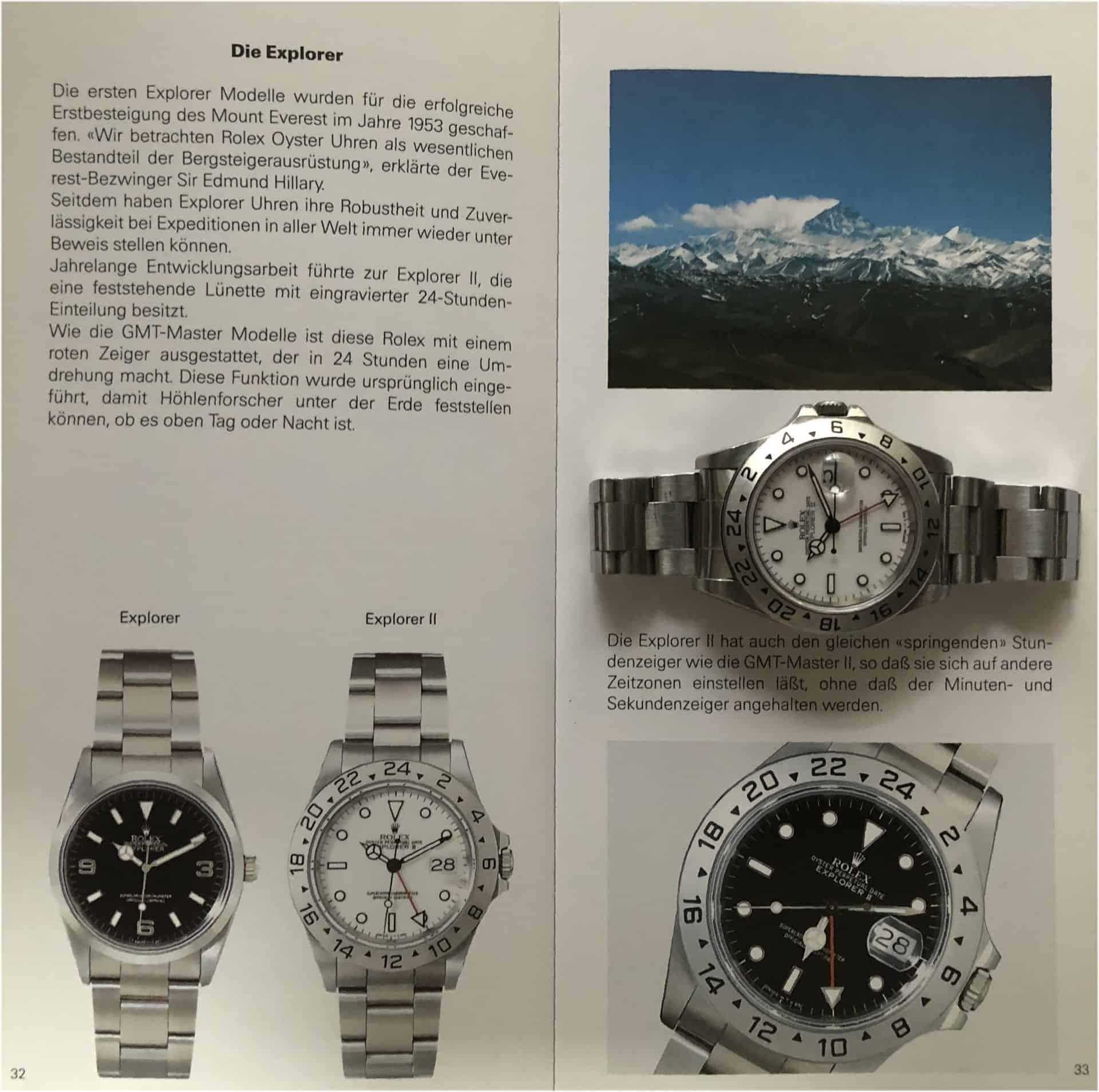 Vorstellung der Rolex Explorer II