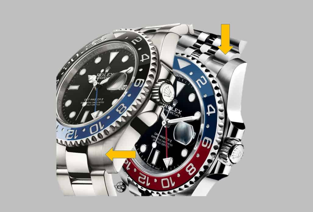 Rolex GMT Master II Oyster versus Jubilé Band