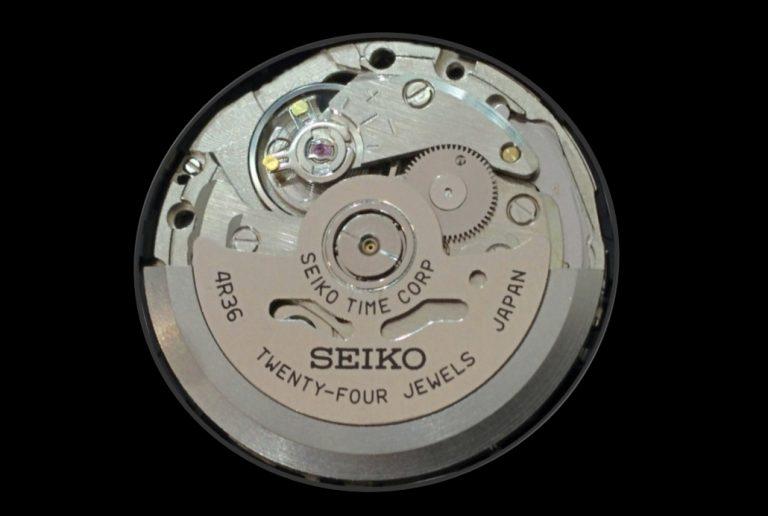 Manufakturkaliber Seiko 4R36 Automatik