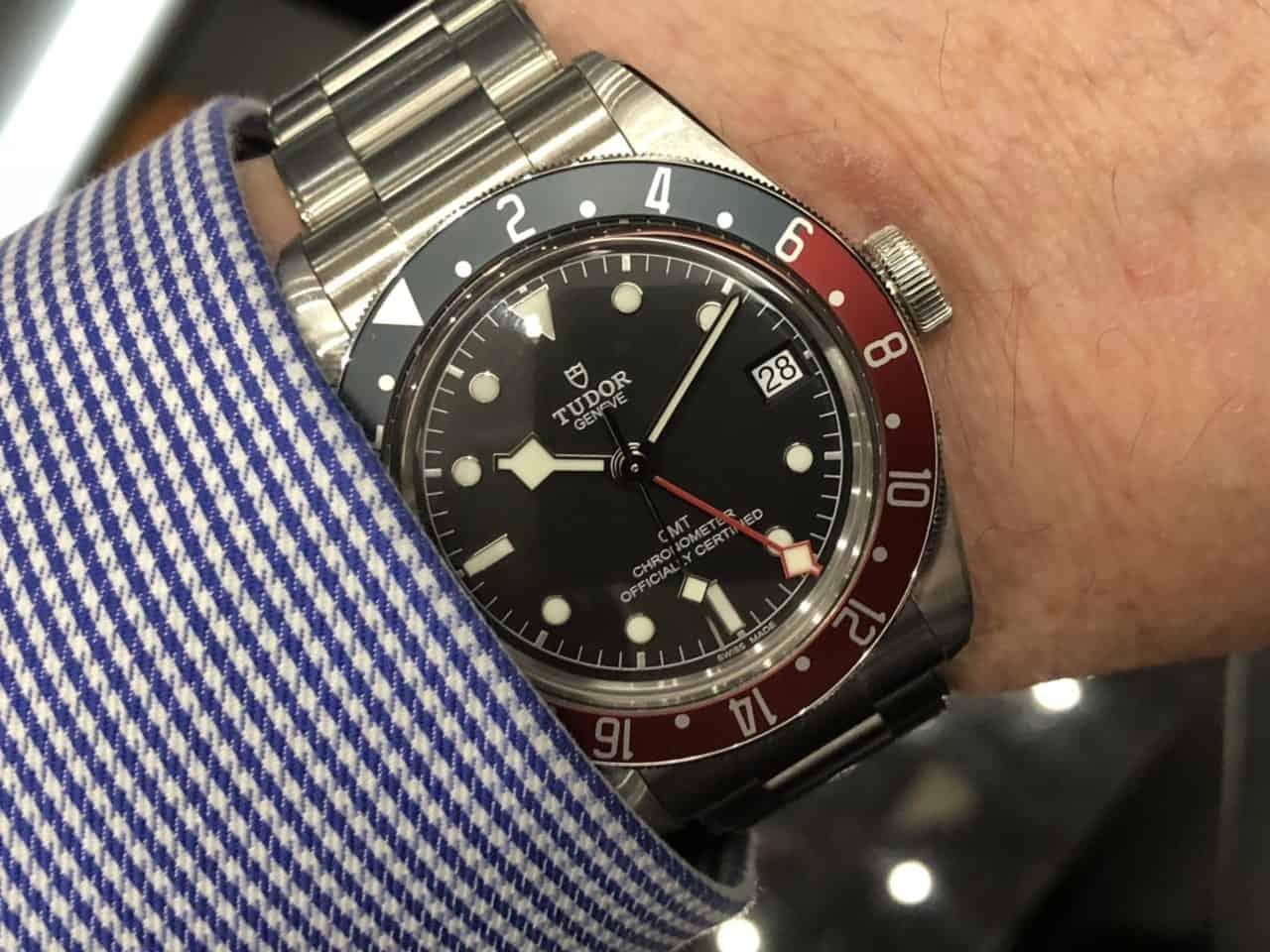 Bei Tudor ist der Preis heiss: Mit der Pepsi Black Bay gibt es viel Uhr fürs Geld (Pepsi oder Pepsi Teil II)