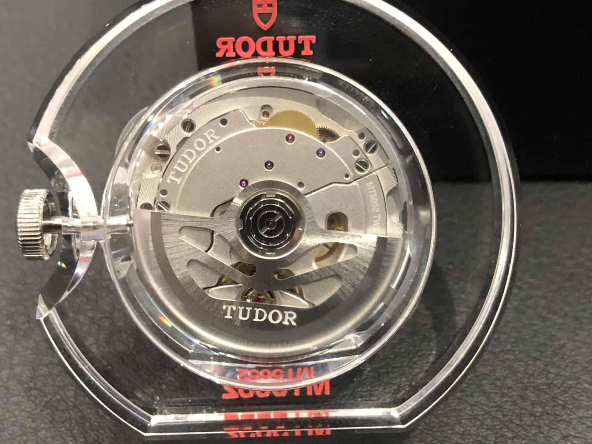 Der beidseitig wirkendee Kugellagerrotor: Tudor Manufakturkaliber MT5652