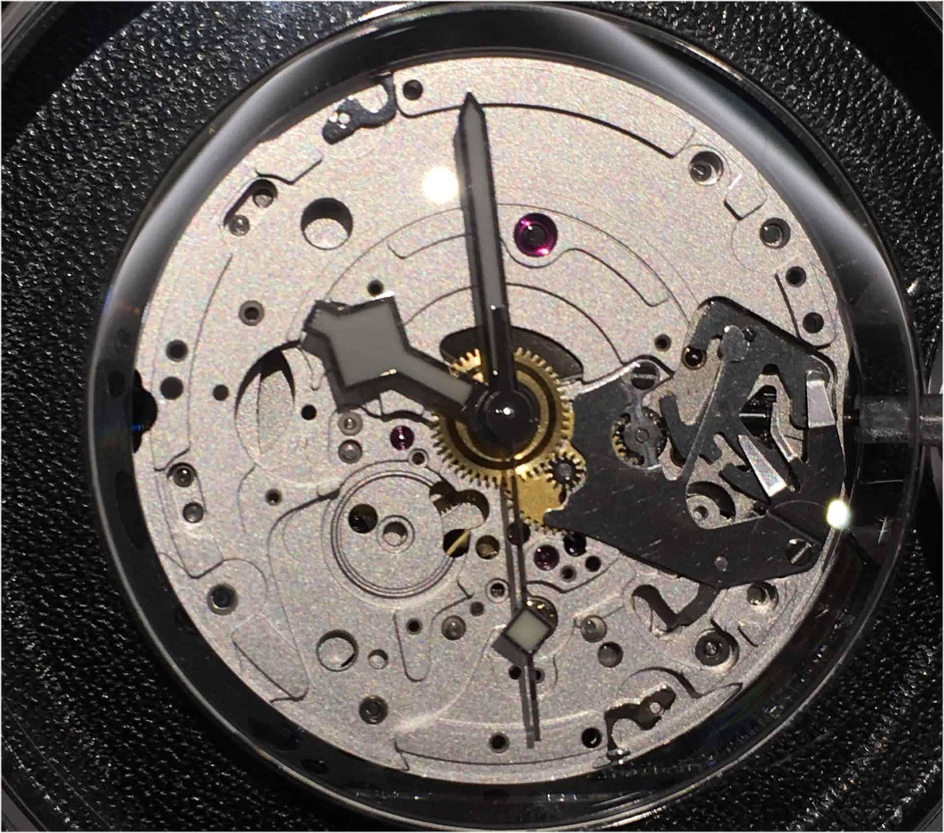 Tudor Automatikkaliber MT5601 unter Zifferblatt Foto C GLB