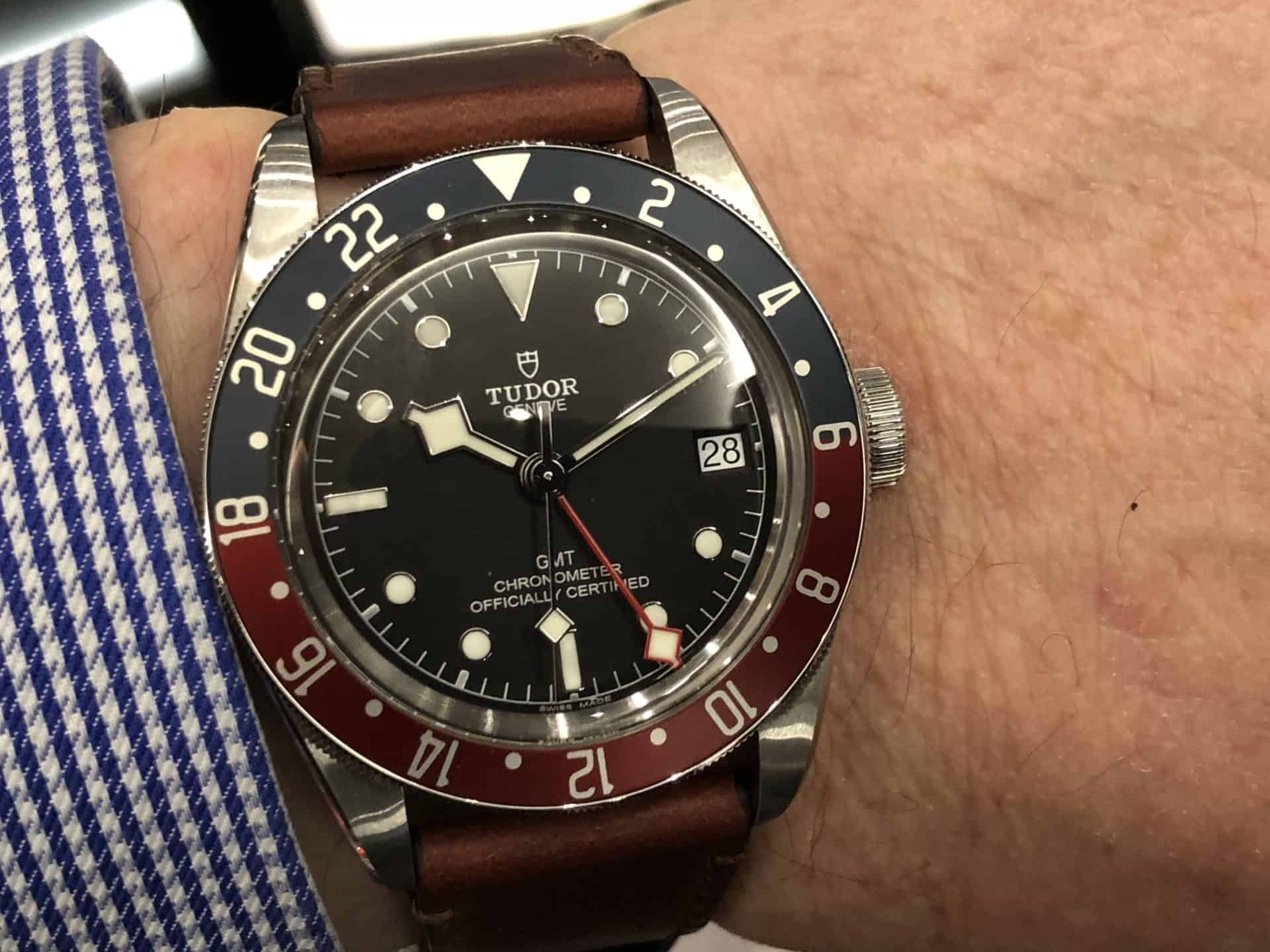Pepsi Tudor Black Bay GMT