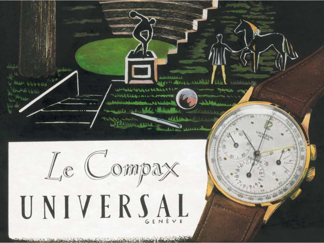 Universal Geneve Bi-Compax und Tri-Compax: Dafür stehen die Begriffe wirklich.