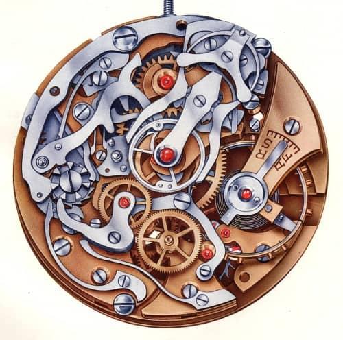 Das Rattrapante Chronographenkaliber Venus Kaliber 179