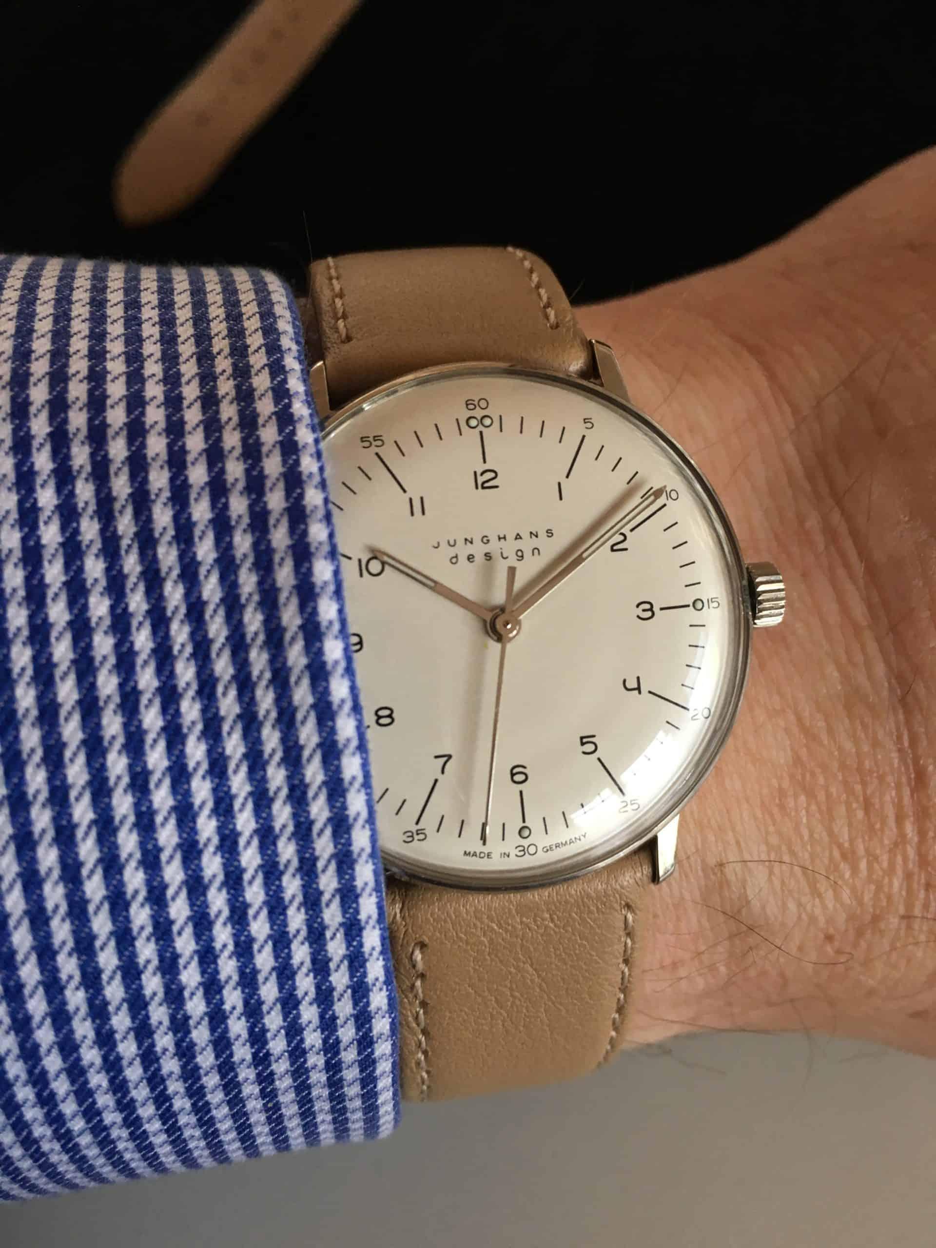 Die max bill by junghans ist ein Uhrenklassiker