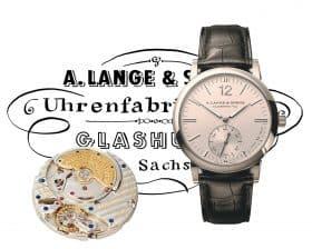 Meilensteine der Uhrmacherkunst: A. Lange & Söhne Langematik Sax-O-Mat