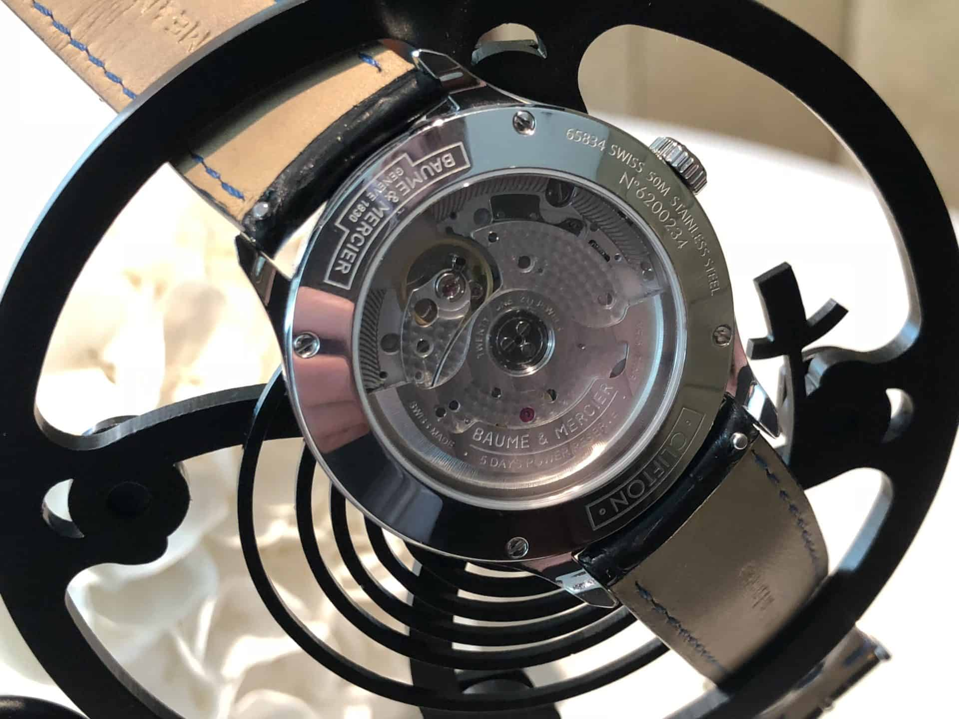 Baume Mercier Clifton Baumatic 08b