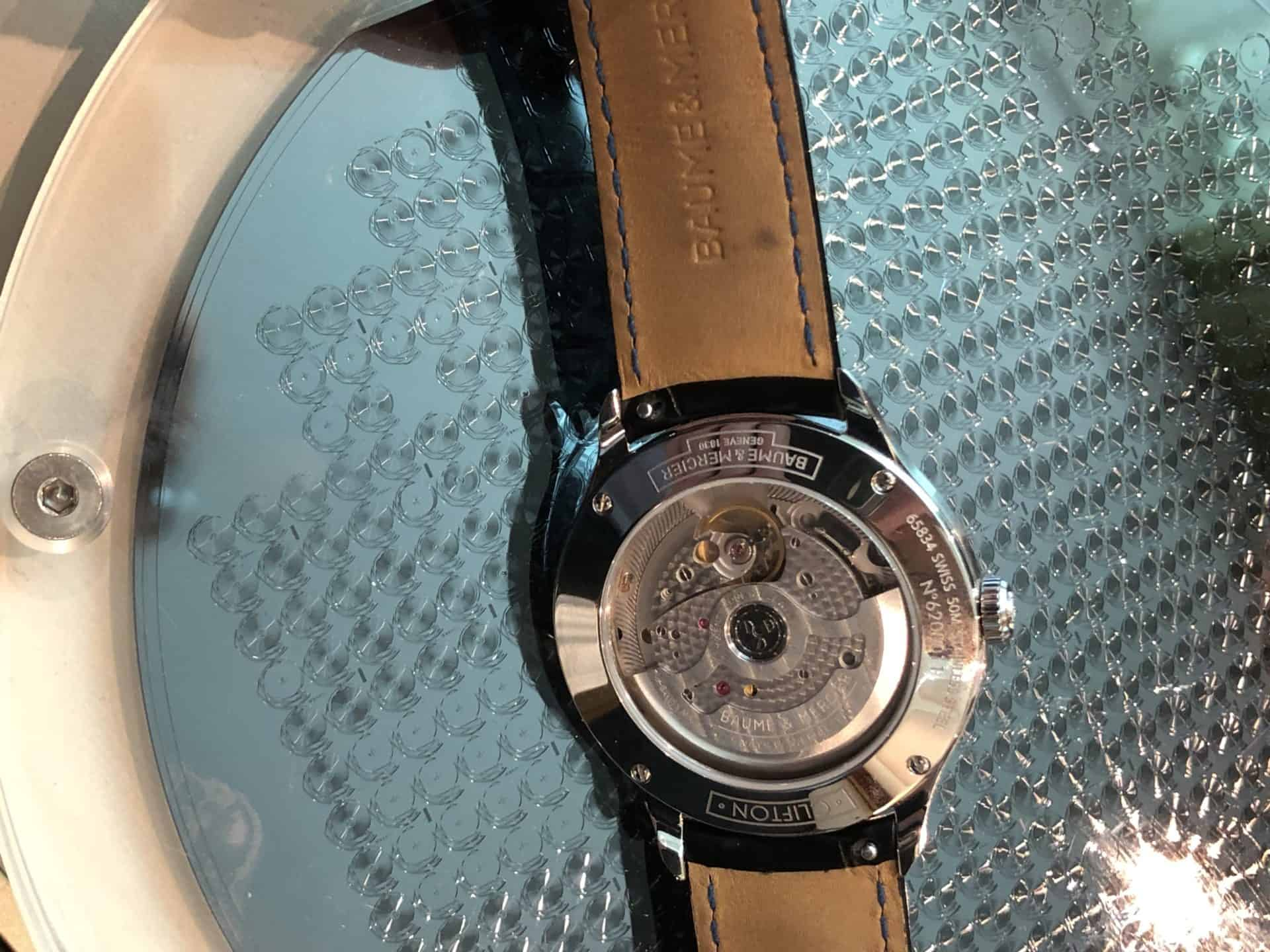 Baume Mercier Clifton Baumatic Chronometer 02a