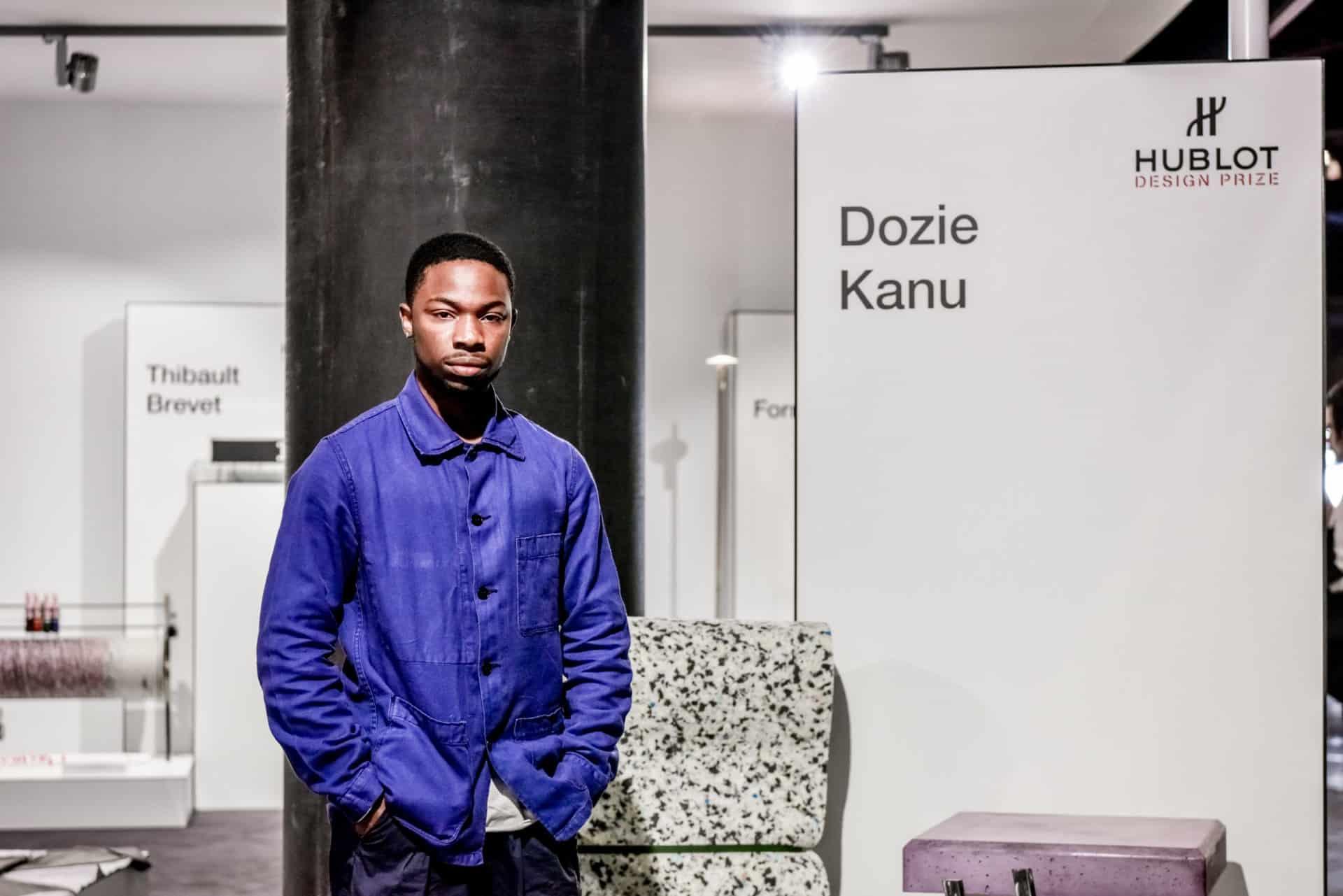 Gewinner des Hublot Design Prize 2018 Dozie Kanu