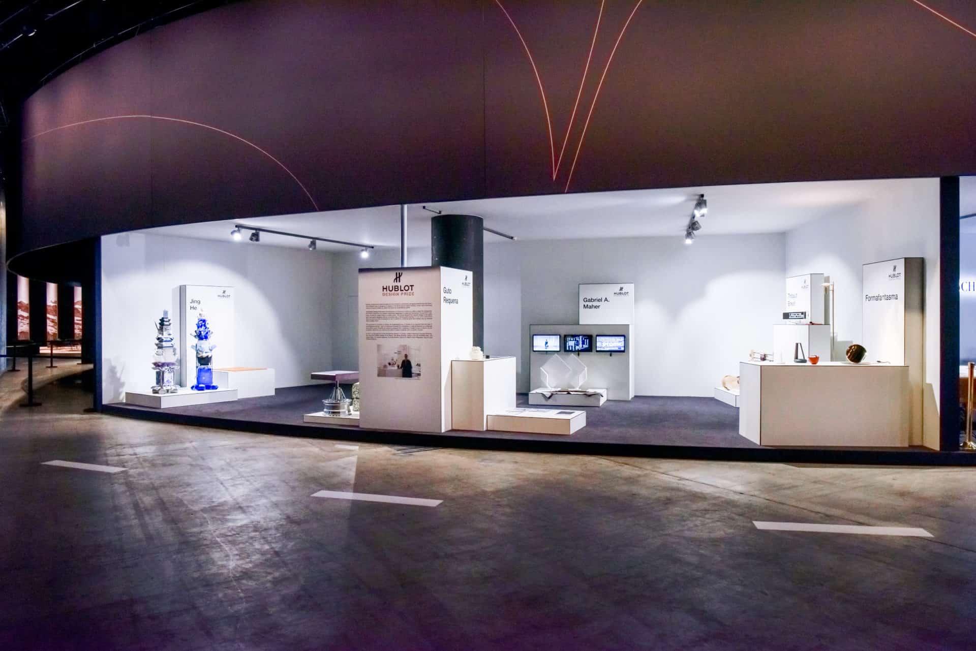Hublot Design Prize 2018 Ausstellung 2