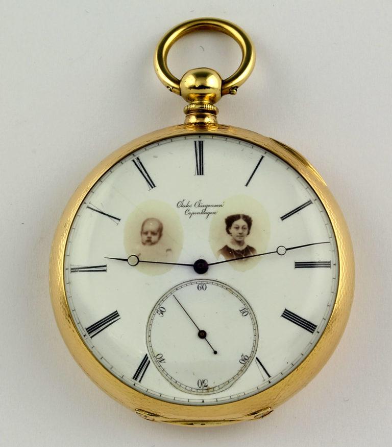Jules Jürgensen produzierte auch personalisierte Zifferblätter - Uhren und Medaillions waren damals en vogue
