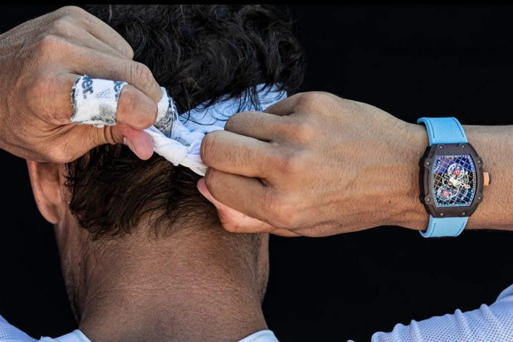 Rafael Nadal Richard Mille RM 27-04 Uhr