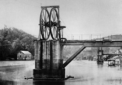 Zu IWC Schaffhausen gehörte auch ein elektrisches Kraftwerk