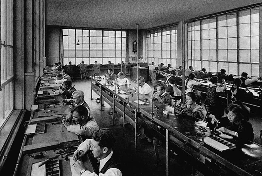 Werkraum IWC Schaffhausen Manufaktur