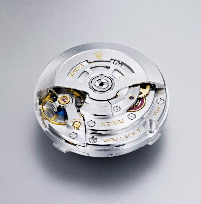 Das Rolex-Manufakturwerk mit Chronergy-Hemmung ist ausnehmend präzise wie robust