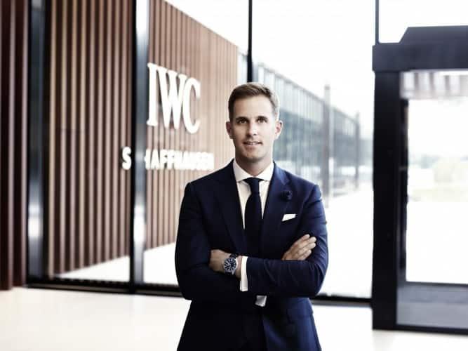 IWC CEO Christoph Grainger-Herr