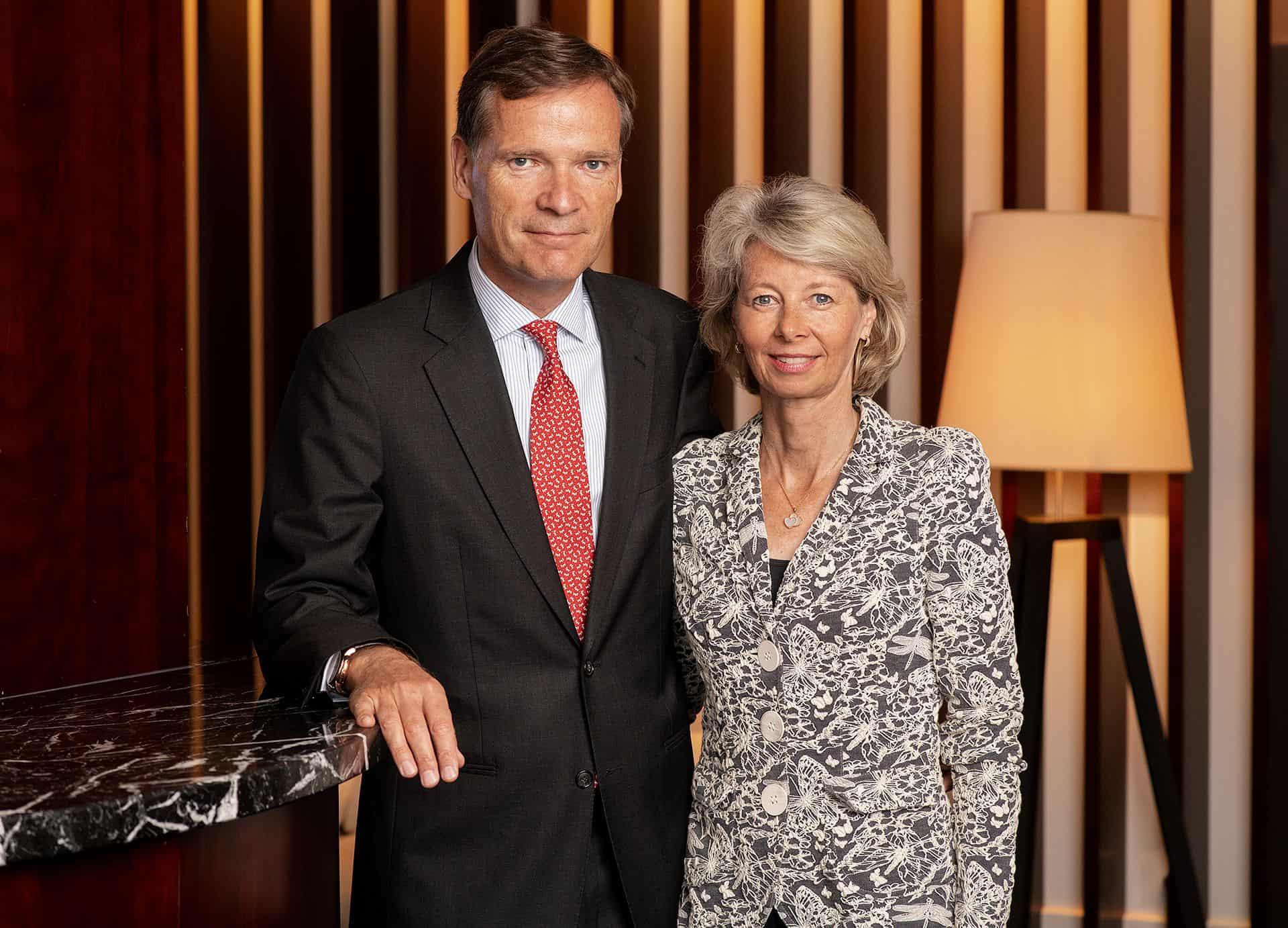 Die Eigentümer der Marke Frederique Constant Aletta Stas-Bax und Peter C. Stas