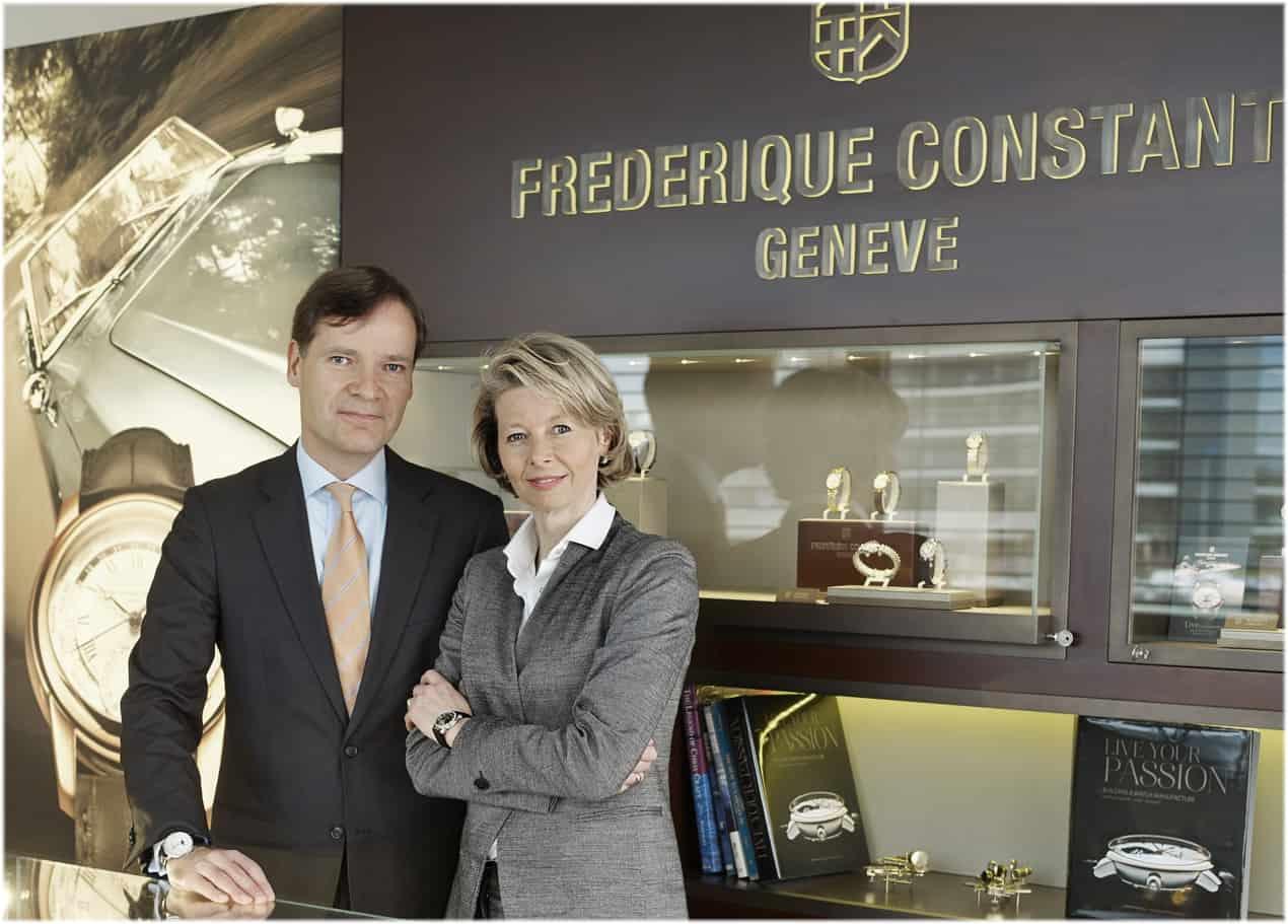 Sie gründeten im Jahr 1988 Frédérique Constant: Aletta und Peter Stas