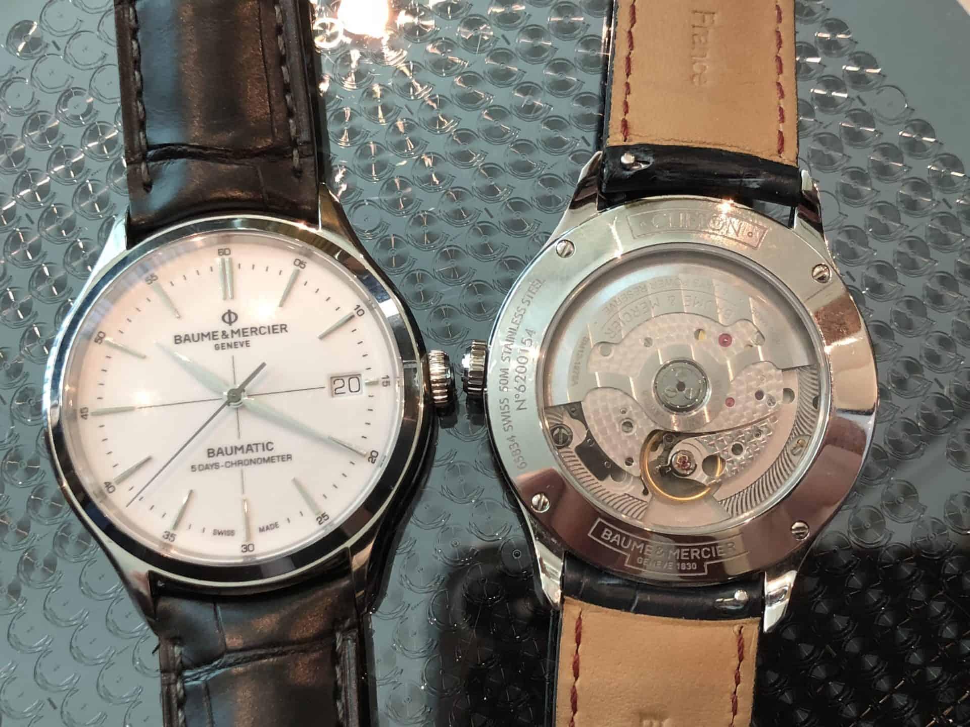 """Mit drei Filmen präsentiert Baume & Mercier seine Armbanduhr """"Clifton Baumatic"""" - Video 1Dieses Design und diese Architektur sind filmreif"""