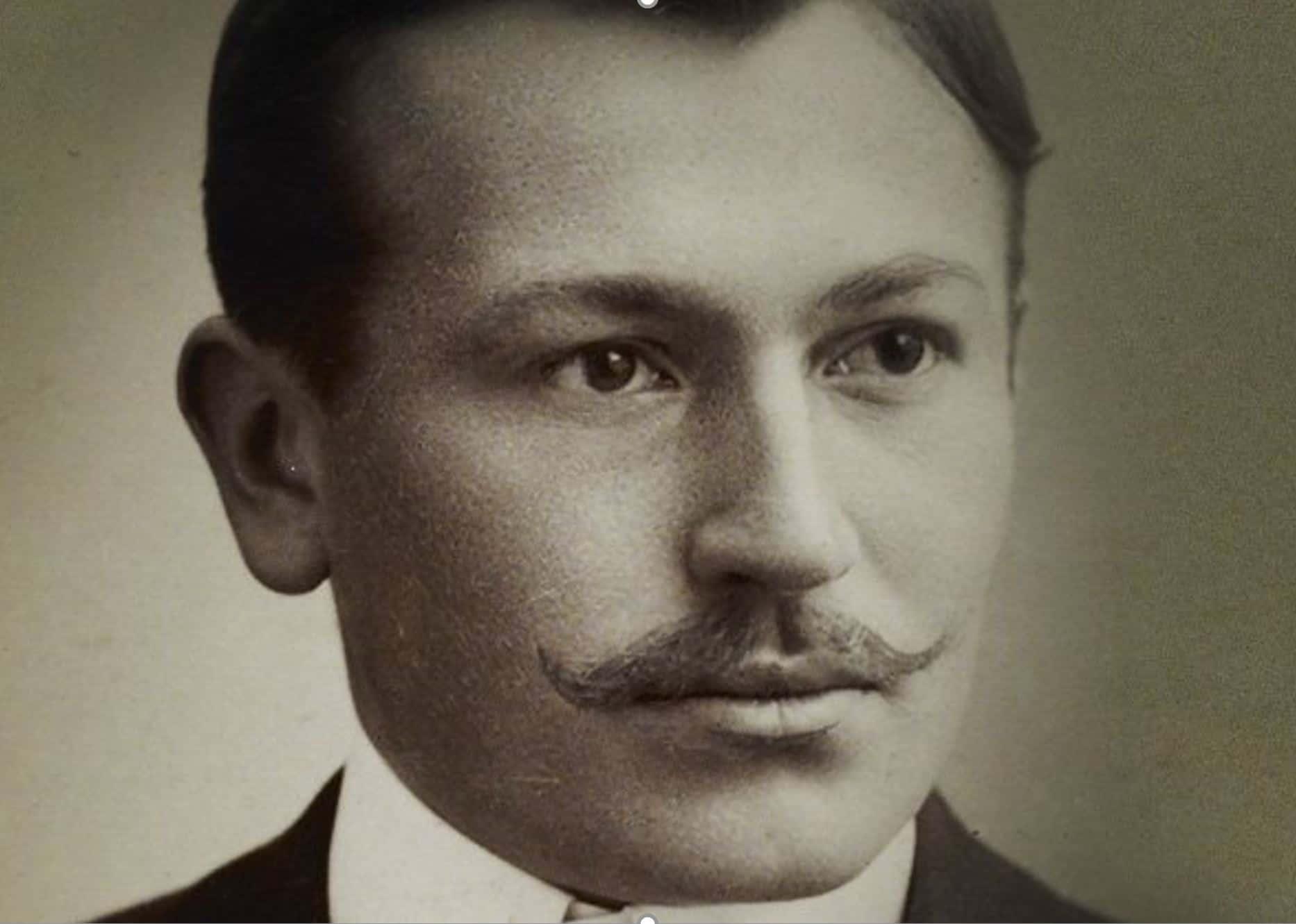 Hans Wilsdorf in jungen Jahre war ein sprachgewandter Mann mit gutem Auftreten.