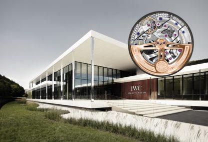 Auf Rundgang durch das neue IWC Manufakturgebäude