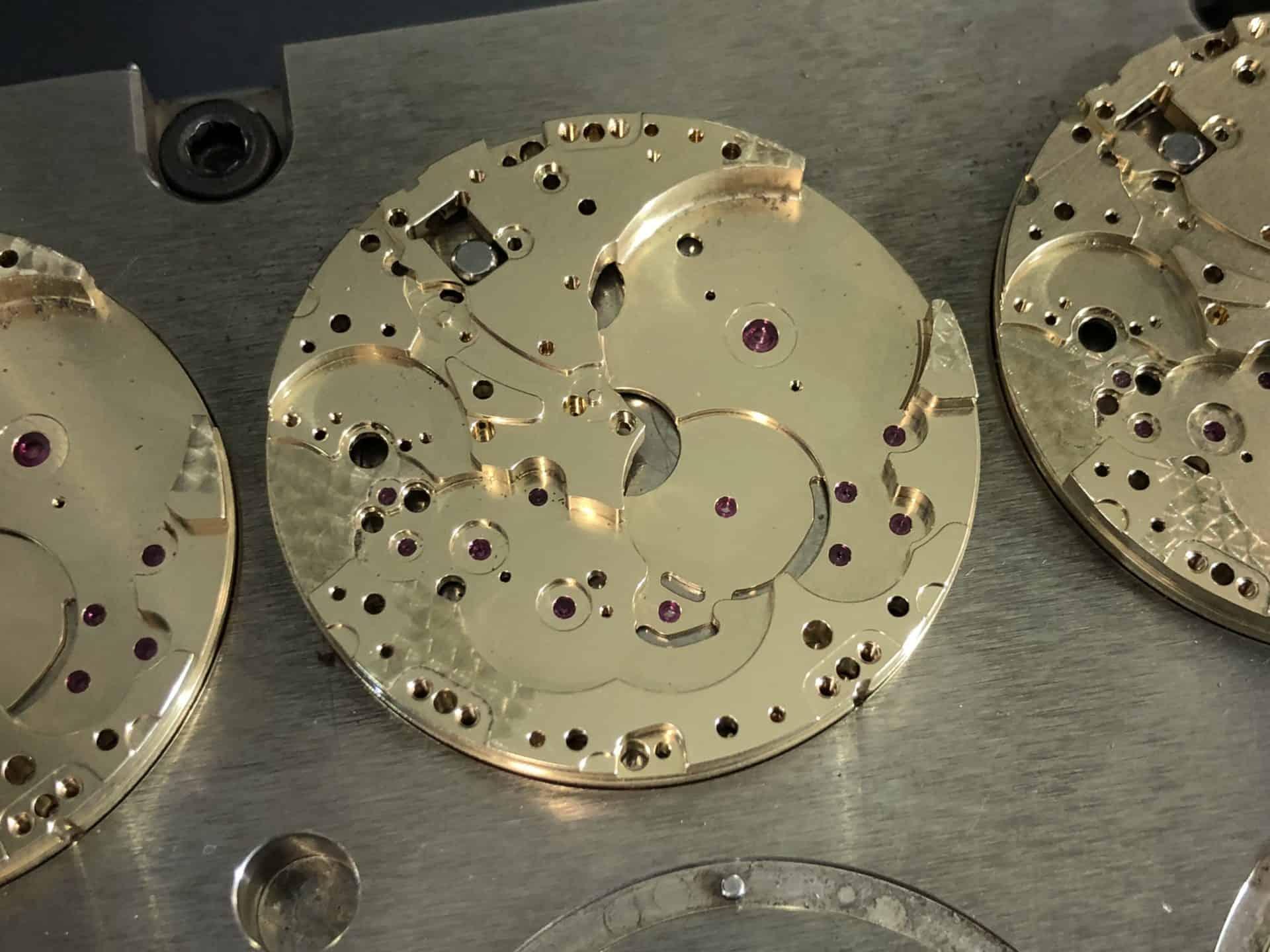 Komplexe und präzise Angelegenheit: Platinen für IWC Uhrwerke