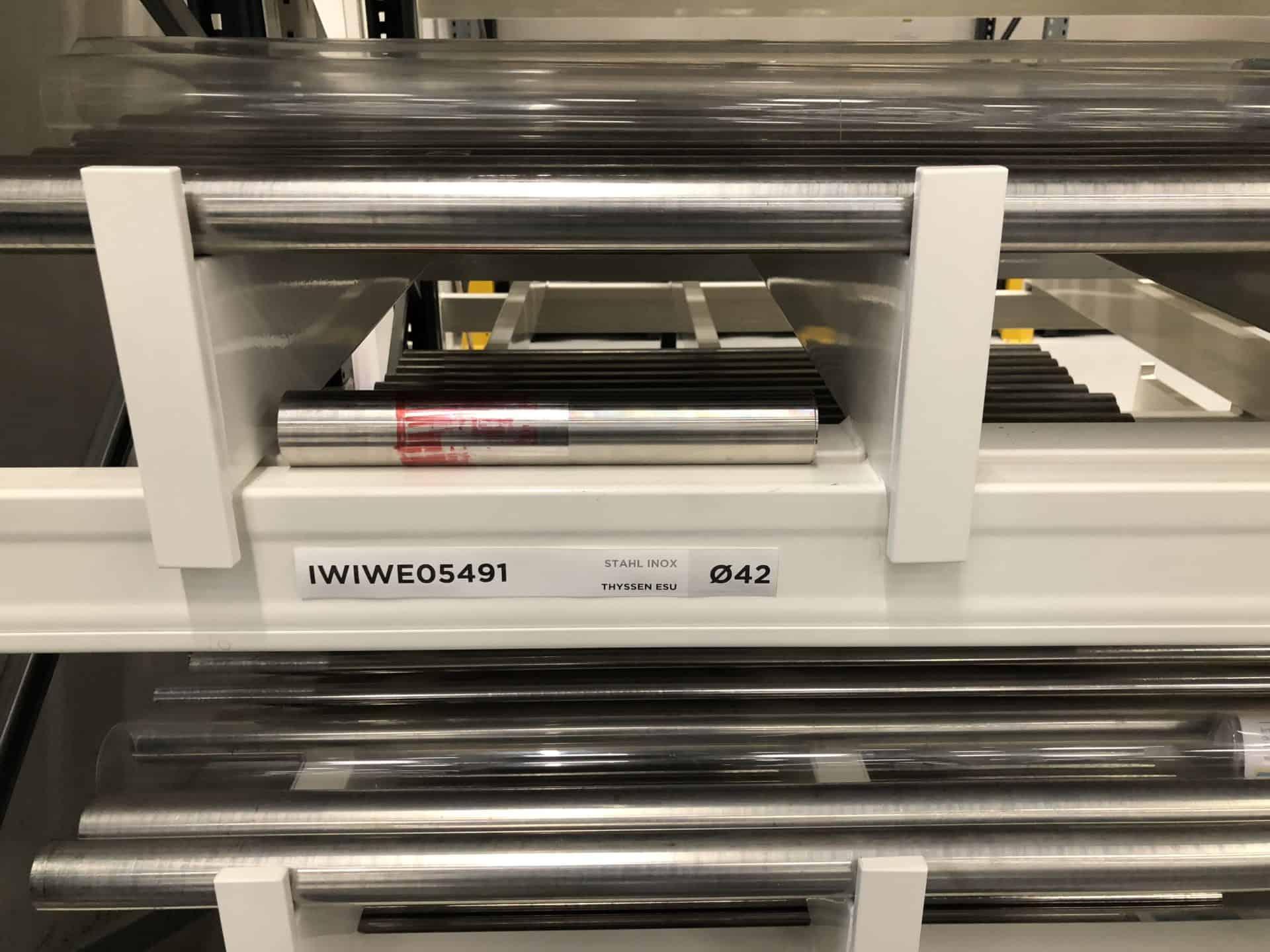 Aus Rohmetall-Stangen von Stahl, Platin oder Weissgold entstehen bei IWC Uhrengehäuse
