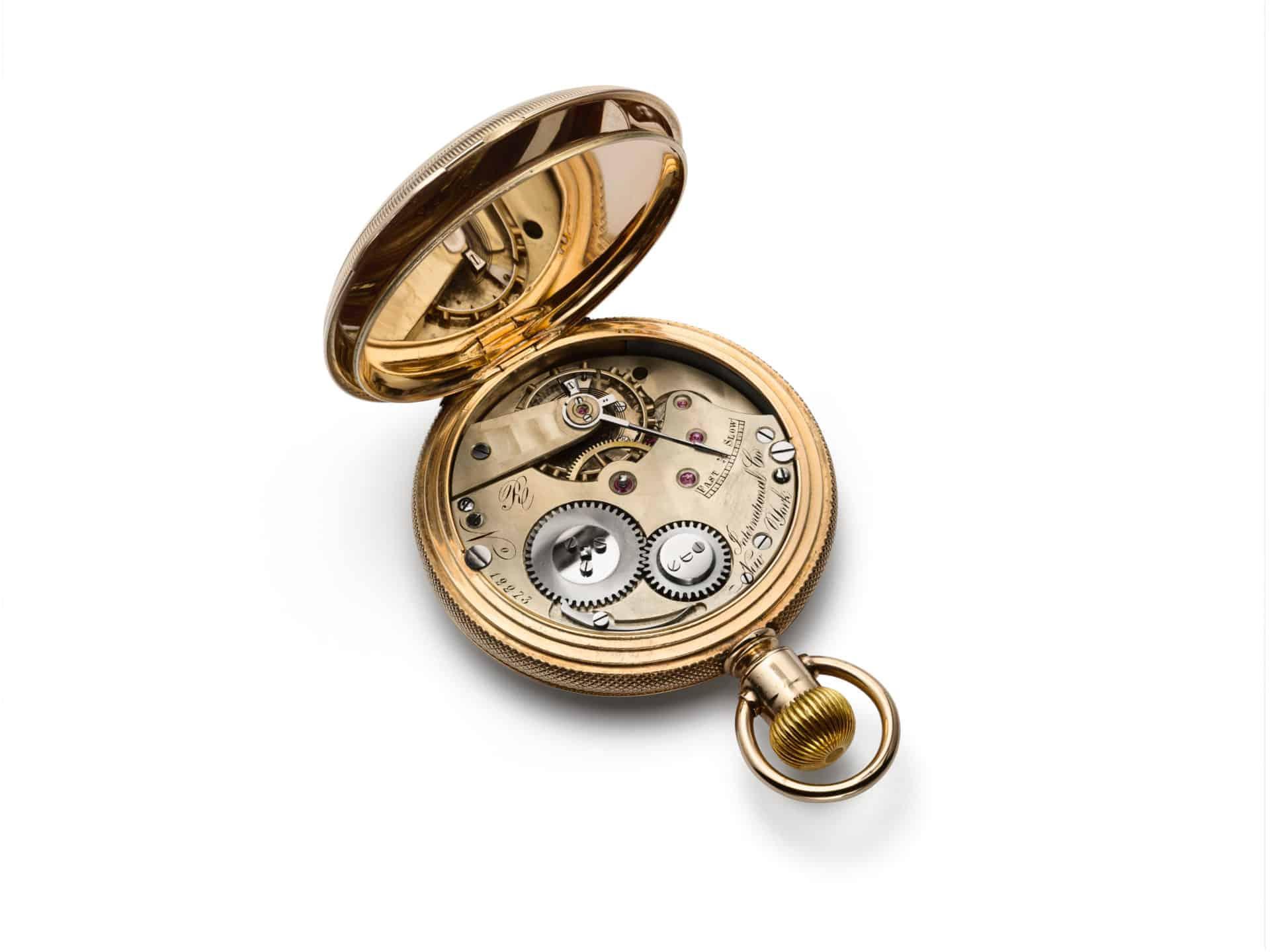 Savonette IWC Uhr aus Gold