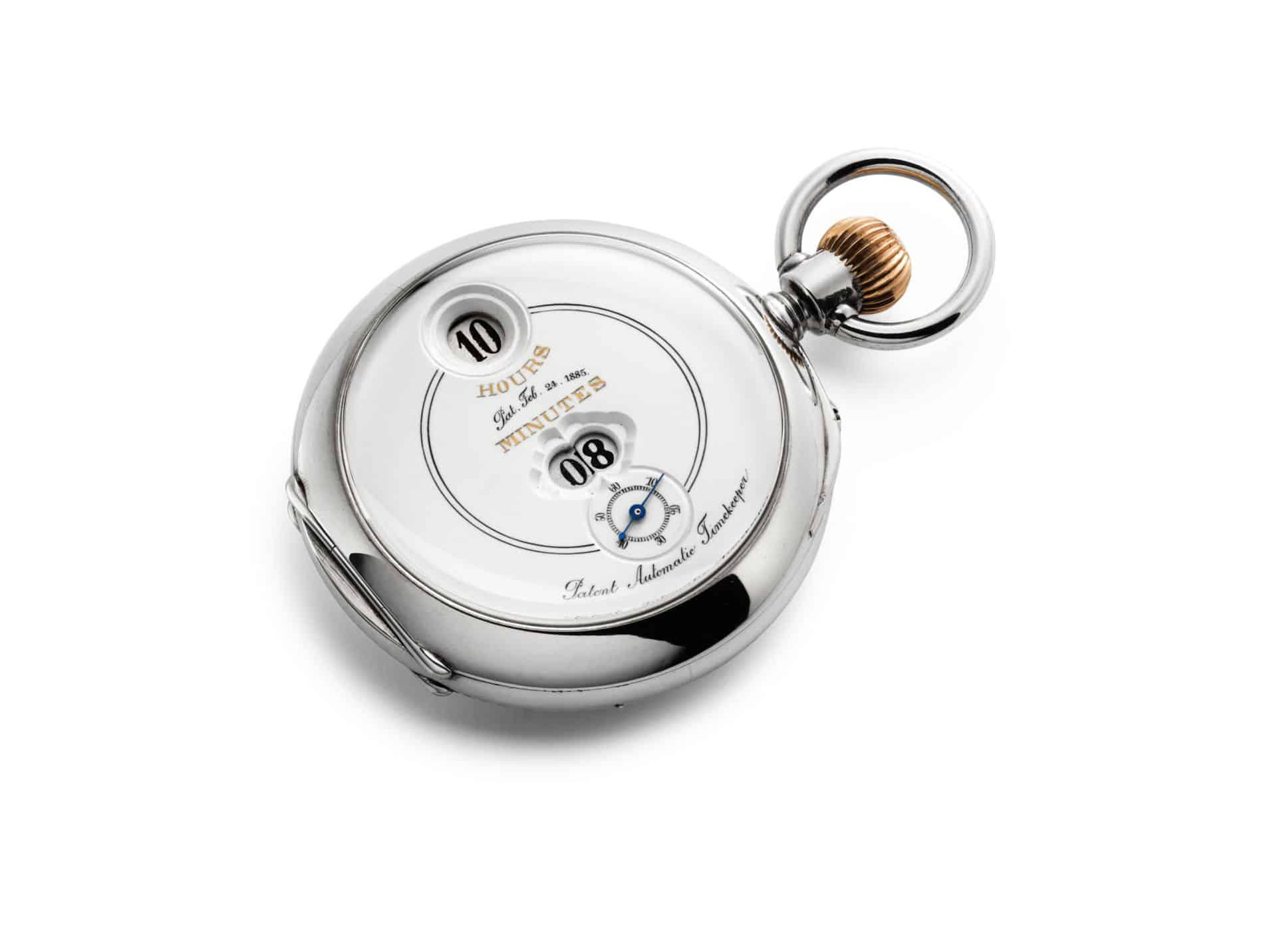 IWC Uhr Pallweber Taschenuhr