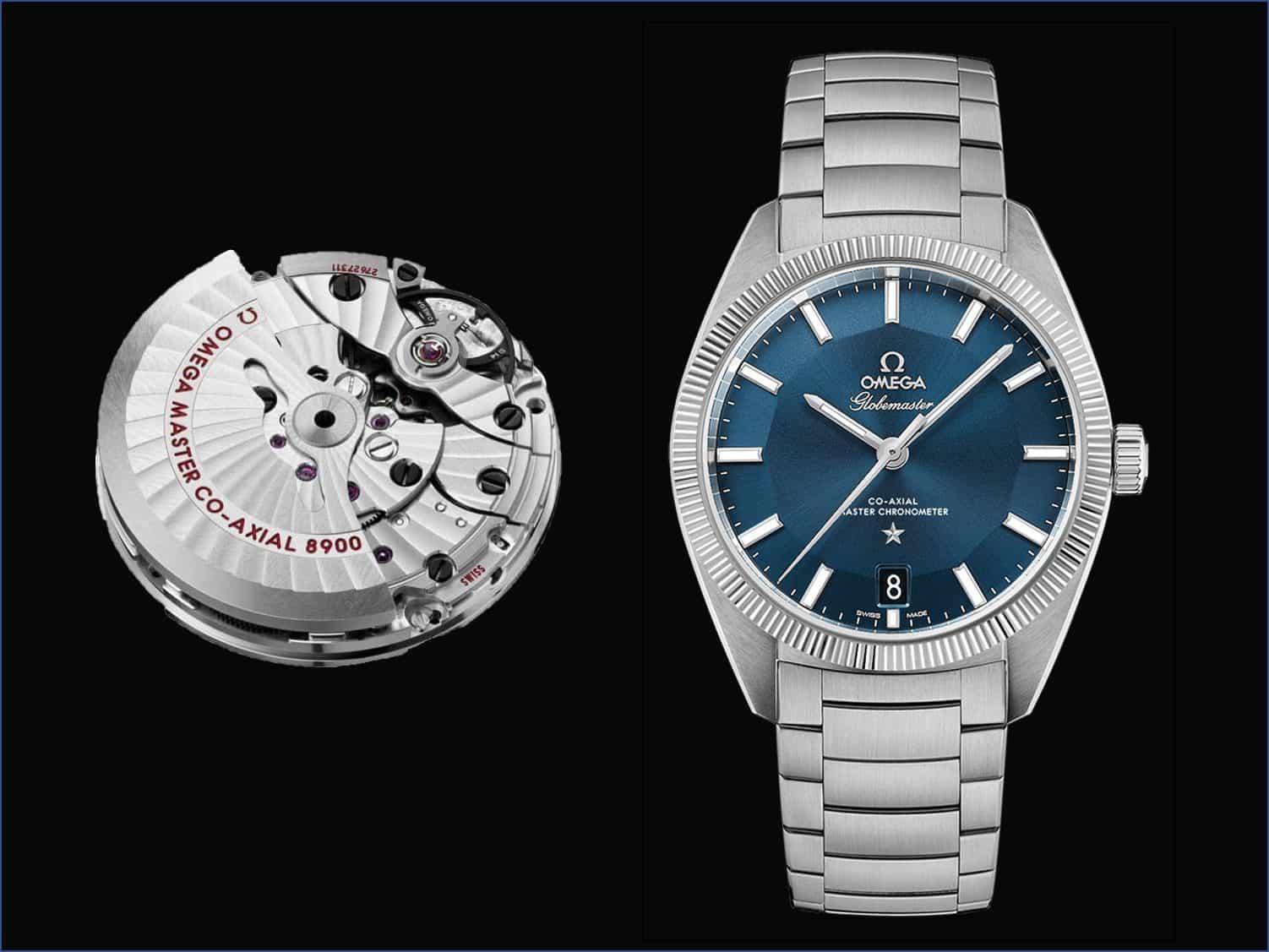 Omega Constellation Globemaster Co-Axial Master Chronometer 39 mm und Kaliber 8900