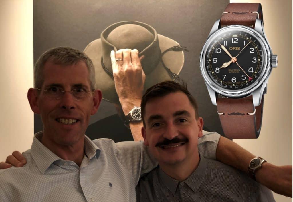 Oris Movember 2018 Scott Poynton Oris Big Crown Pointer