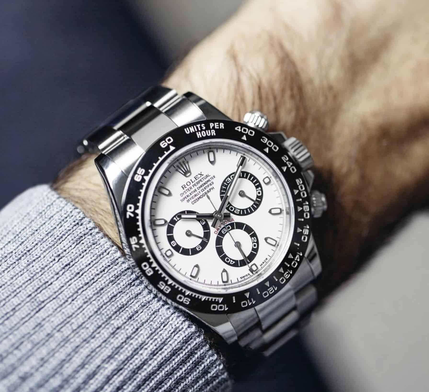Zwei Style-Klassiker - Rolex Daytona und ihr Träger Roger Federer